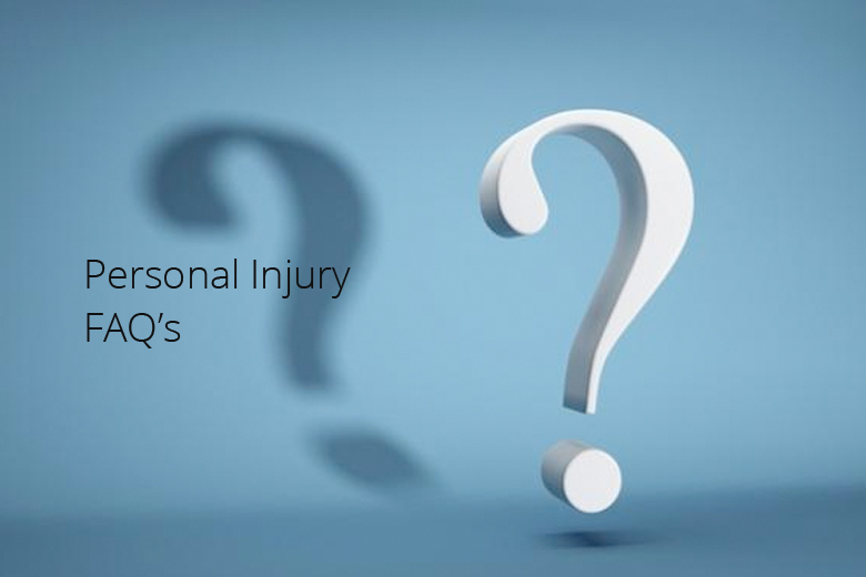 Personal Injury – Frequently Asked Questions
